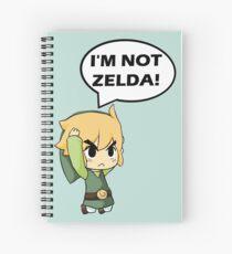 Cuaderno de espiral No soy Zelda
