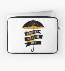Manners Maketh Man Laptop Sleeve