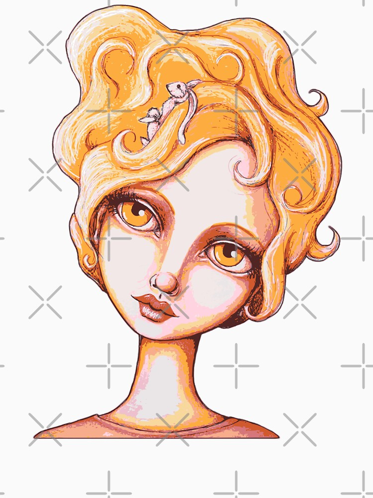 Bunny Bouffant (Orange Version) by LittleMissTyne