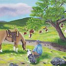 In God's Country ~ Western Landscape ~ Original Oil Painting by Barbara Applegate