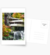 Falling Water Postcards