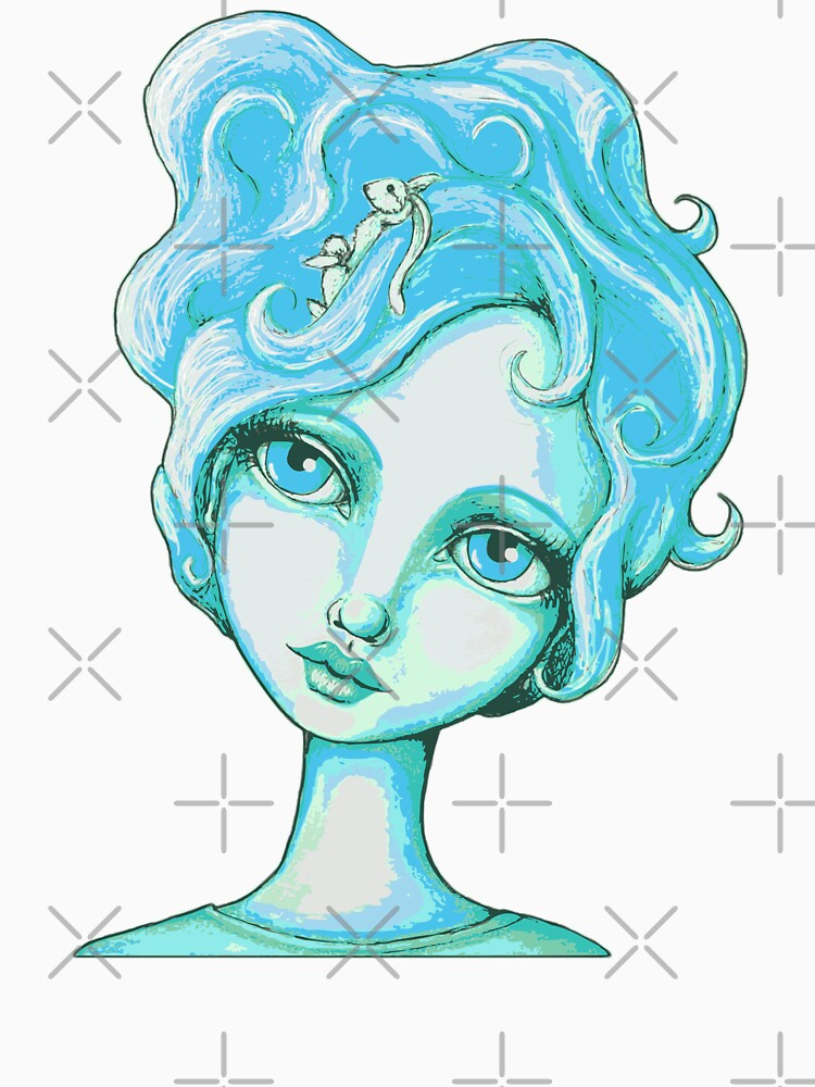 Bunny Bouffant (Cyan Version) by LittleMissTyne