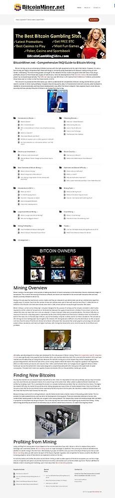 Bitcoin Miner by boydolson