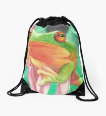 Froggie Drawstring Bag