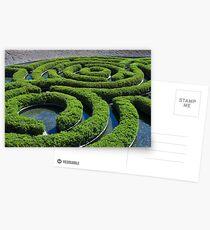 Concentric Postcards