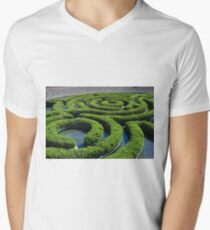 Concentric Men's V-Neck T-Shirt
