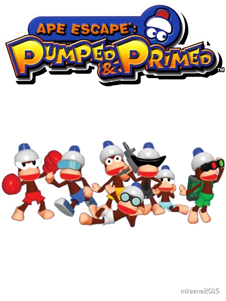 Ape Escape Pumped & Primed by mkeene2015