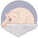 Sleeping Polar Bear  by Bumcchi