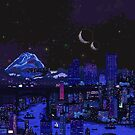 Nightlife of Carbon Valley by mentalpoppixels
