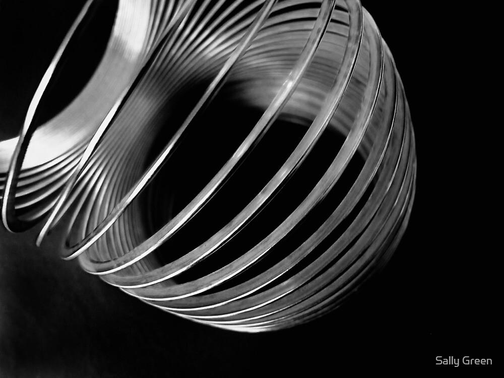 Metal Circles 1 by Sally Green