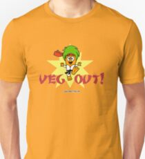 Carrotty Kid: Veg Out Unisex T-Shirt