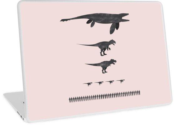 Jurassic World Food Chain dark by Dersee