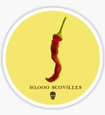 Cayenne Pepper Sticker