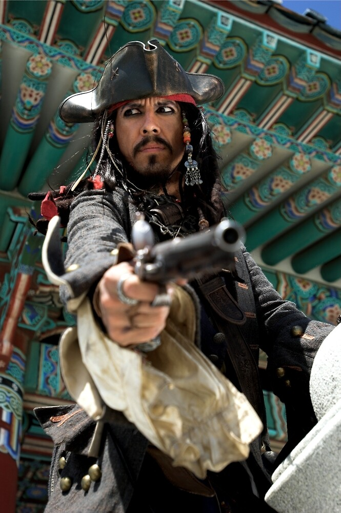 Pirates! Johnny Depp - Capt. Jack Sparrow by Bobby Deal