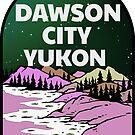 Dawson City Yukon Territory Canada Northern Lights by MyHandmadeSigns