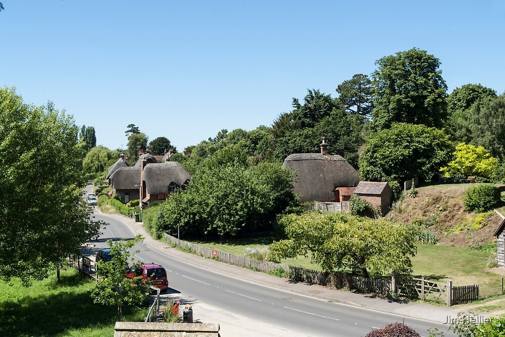 Clifton Hampton Oxfordshire by Jim Hellier
