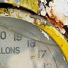 Detail of a rusting petrol pump by David Carton