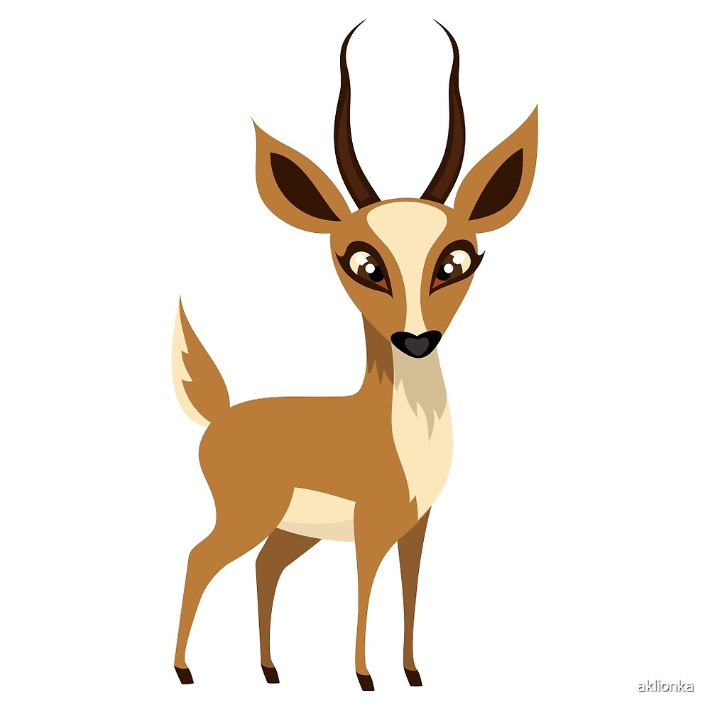 Antelope by aklionka