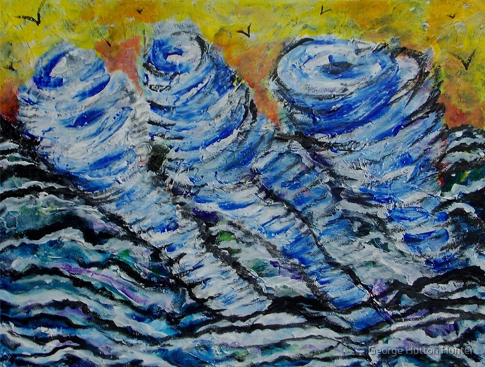 Water Spouts by George Hunter