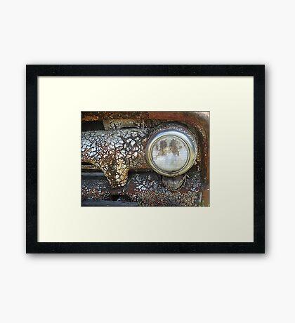 Dry Eye Framed Print