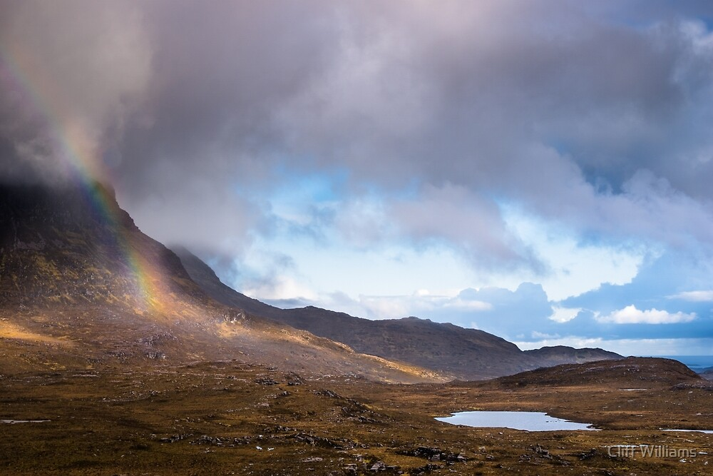 Rainbow at Sail Garbh by Cliff Williams