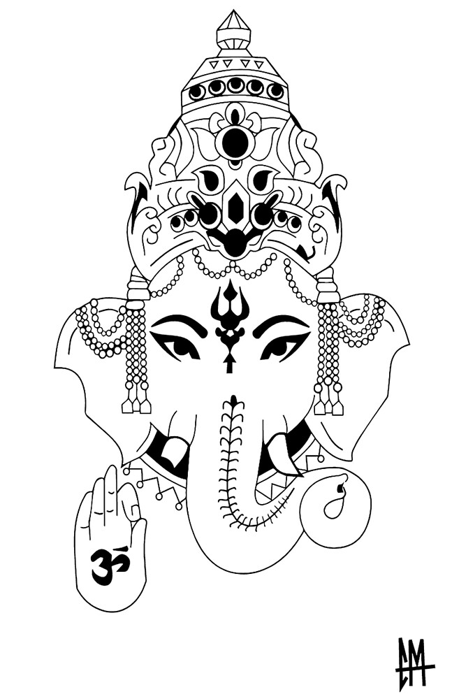 """Ganesh"" by coleminty"