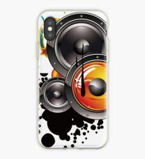 Altavoz música  iPhone Case