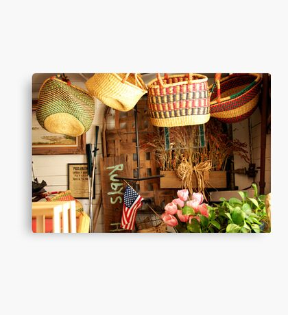 Rubys Corner - Rabbit Hash General Store Canvas Print