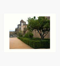 Convent of Christ - Tomar,  Portugal Art Print