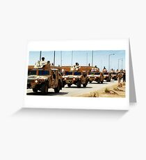 Hummers Greeting Card