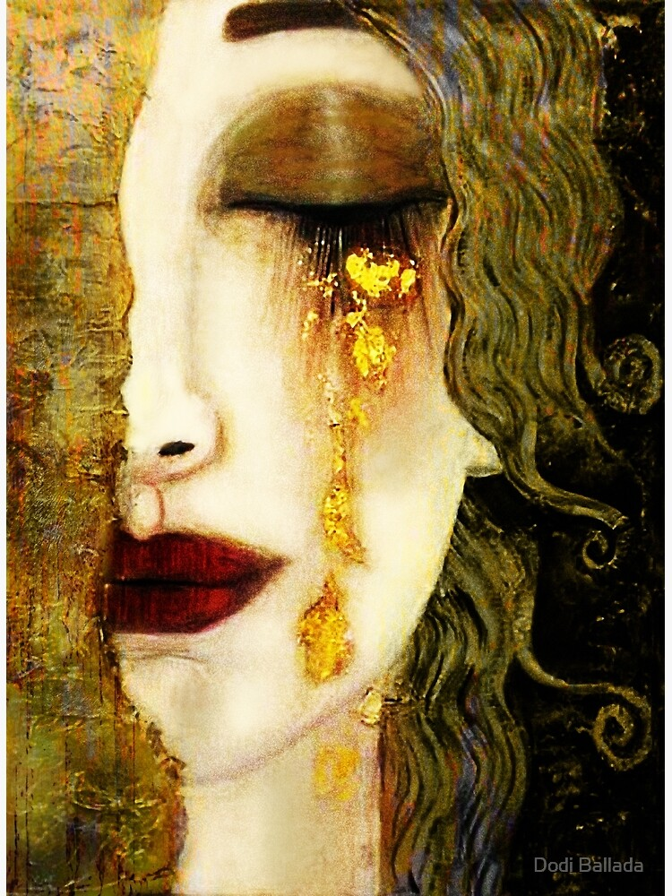 Gustav Klimt,  Golden Tears, Freyas by timelessfancy