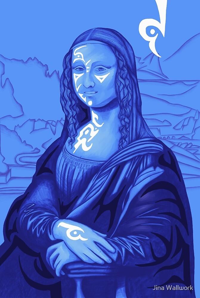Mona Lisa 48 by Jina Wallwork