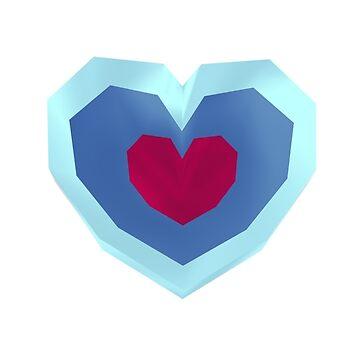 Retro Heart by EricRockwell