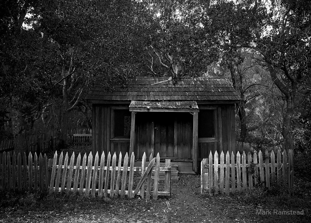 Cabin in the Woods by Mark Ramstead