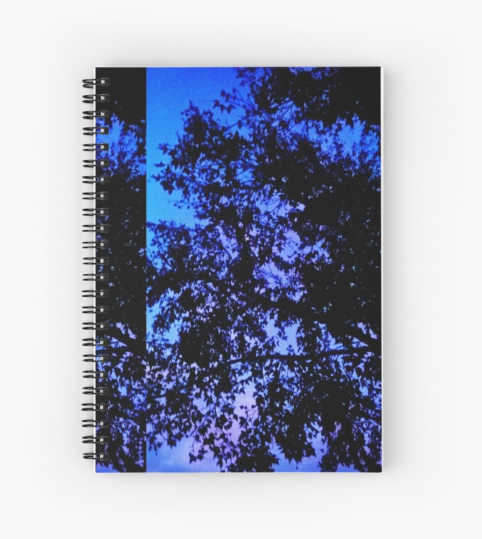 Tree Edit (Blue) by Angela Dupuy