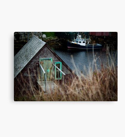 Herring Cove, Nova Scotia Canvas Print