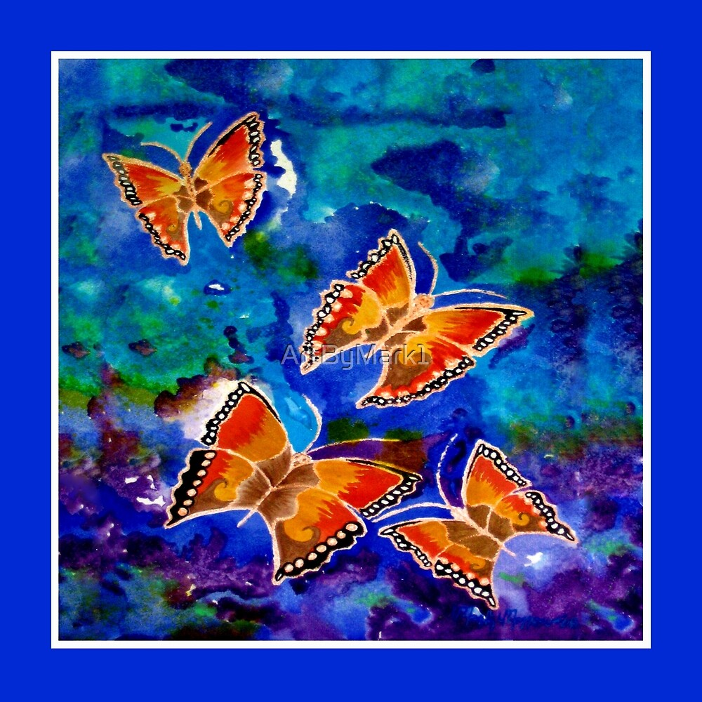 Wax Relief Butterflies by ArtByMark1