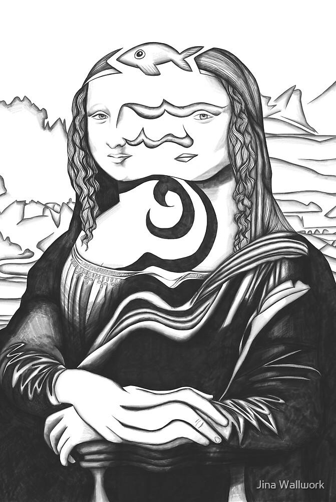 Mona Lisa 50 by Jina Wallwork