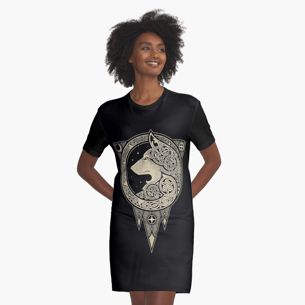 NORSE ULV Graphic T-Shirt Dress