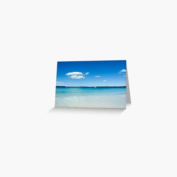 White Sails Greeting Card