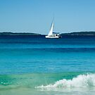 Gentle Wave - Hyams Beach, NSW by Dilshara Hill