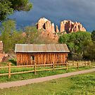 Cathedral Rock, Sedona, AZ  by Barb White