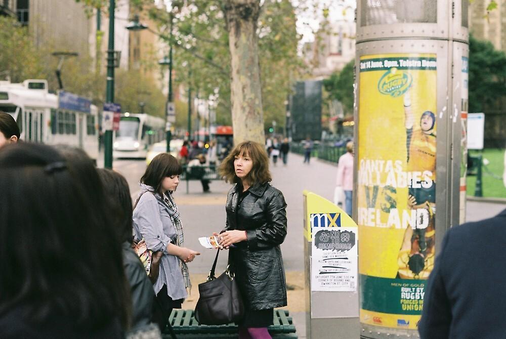 swanston street life by Liam Thomas