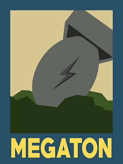 Retro Megaton by EricRockwell
