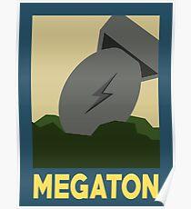 Retro Megaton Poster