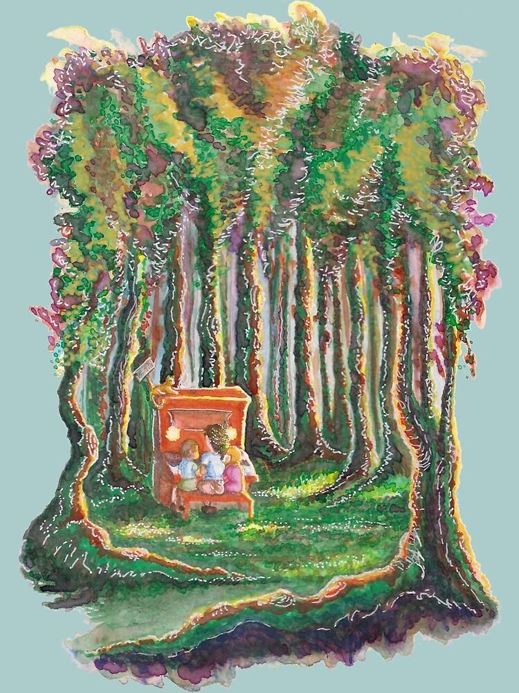 Piano in the Park by BirgitteV
