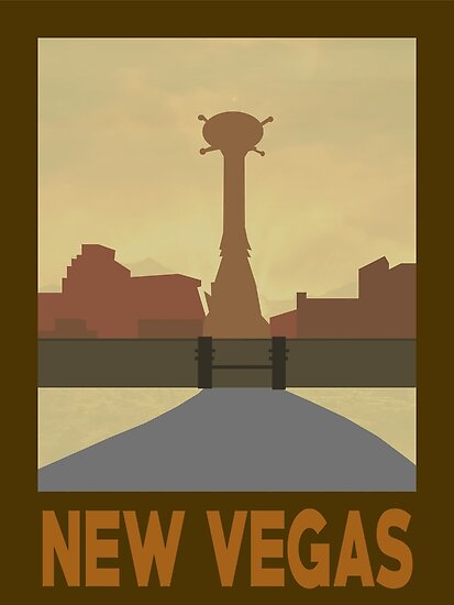 Retro New Vegas by EricRockwell