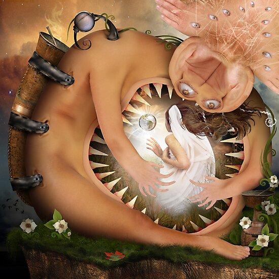 Guradian for an Angel by Yuliya Art