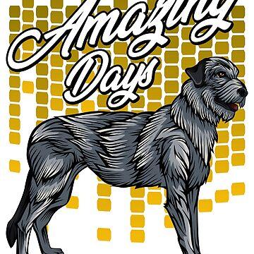 Irish Wolfhound Dog Owner Pet Greyhound Gift Idea by Lumio