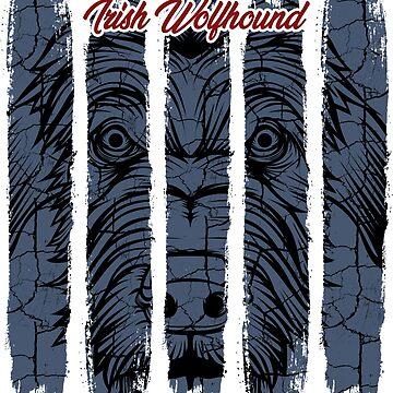 Irish Wolfhound Ireland Hound Greyhound Gift idea by Lumio